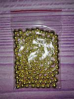 Посыпка кондитерская, золото, 5 мм