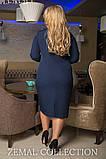 Эффектное платье с молнией впереди 50-60р, фото 2