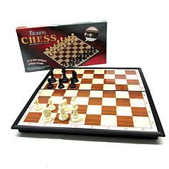 Игра настольная Шахматы пластиковые на пластиковой доске с магнитом №8608 27,5*14 см