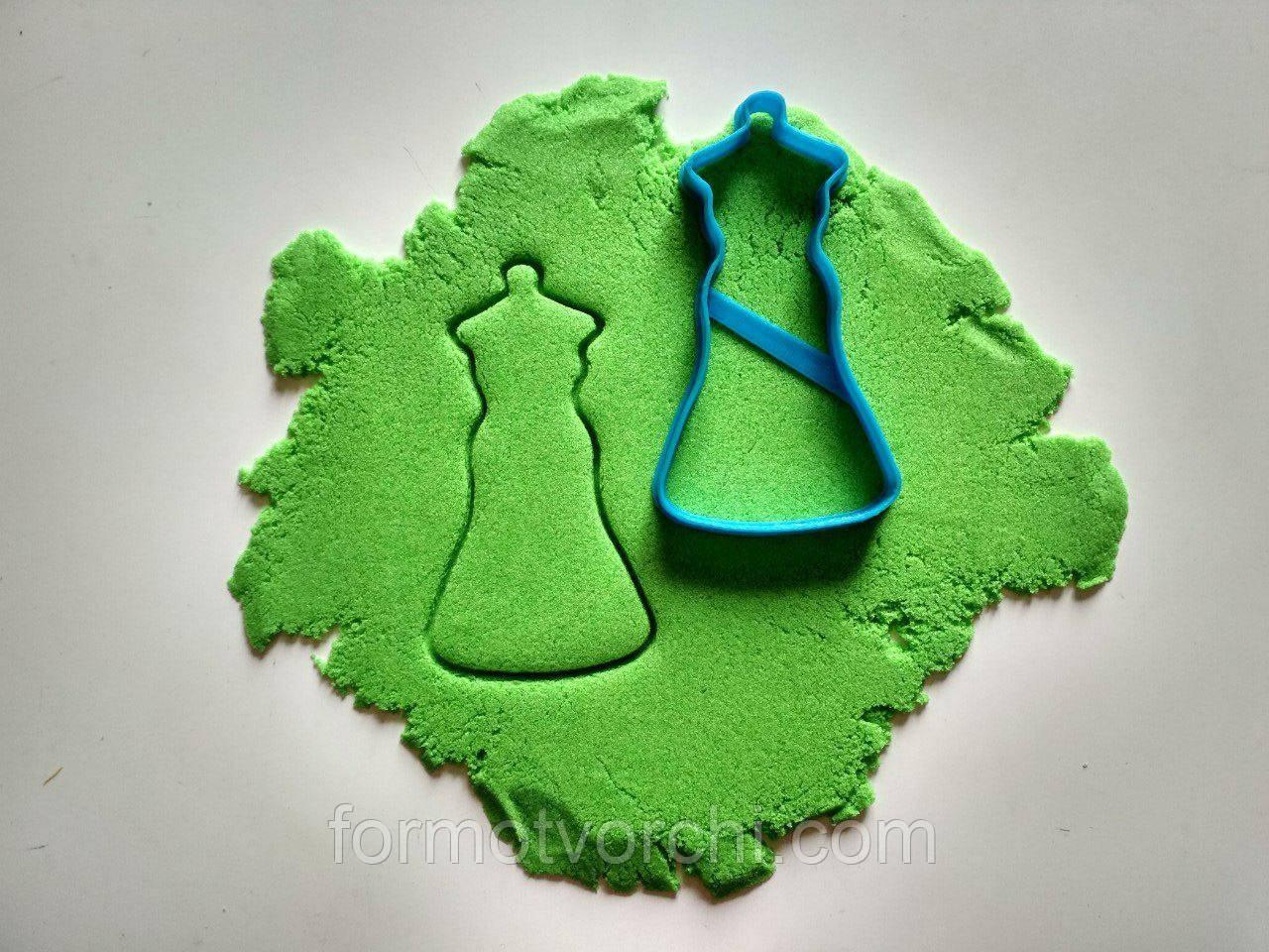 """3D формочки-вырубки для пряников """"Свадебное платье 7"""""""