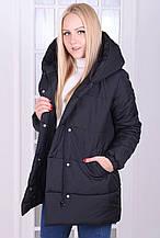 Женская зимняя куртка пуховик Плащевка Канада на синтепоне Размер 42 44 46 В наличии 4 цвета