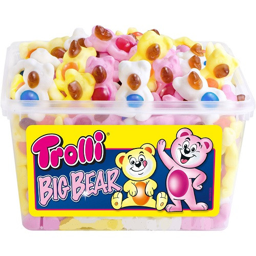 Тролли Мишки / Trolli Big Bear ( 6 штук в ящике )
