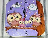 Часы интерьерные Совы