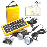 Солнечная панель для дома Solar Home System, 4500 mAh - автономное освещение