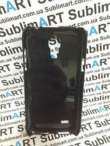 Чехол для 2D сублимации пластиковый на Samsung S4 mini черный (закругленная пластина), фото 3