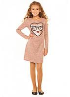 Платье трикотажное для девочки Мирада (7-14 лет), фото 1