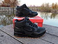 Мужские зимние кроссовки Nike Air Max нат. кожа