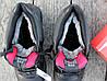 Ботинки зимние мужские черные Nike Air Max нат. кожа реплика, фото 4