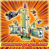 """Детский набор конструктора, аналог Лего, JVToy - """"Школа супергероев"""""""