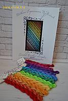 Схема для вышивки крестиком Twisted Rainbow Sampler Northern Expressions