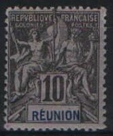 Реюньон 1892-1905 10с Sc#39