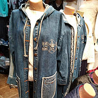 Джинсовые модные кардиганы