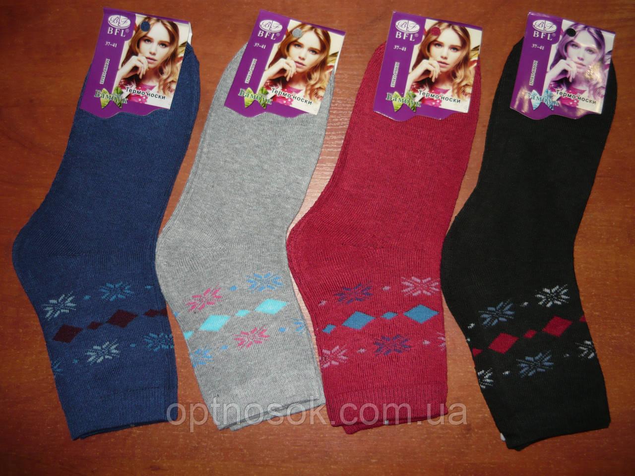 """Махровые женские носки """"BFL"""".р.37-41."""