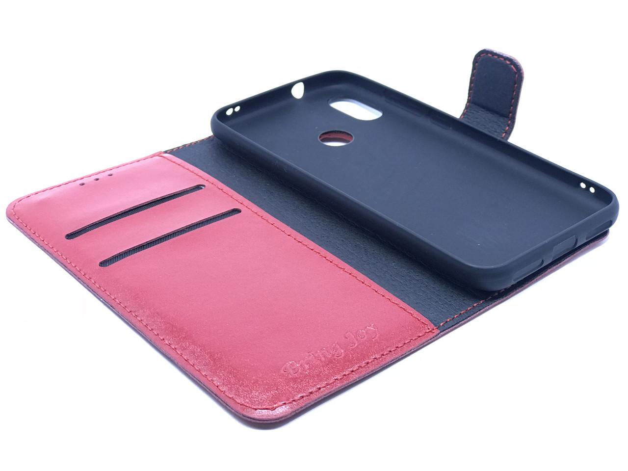 Чехол-книжка Bring joy для Xiaomi MiA2 Lite RED