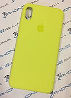 Силиконовый чехол для iPhone Xs Max, - «вспышка» - copy original