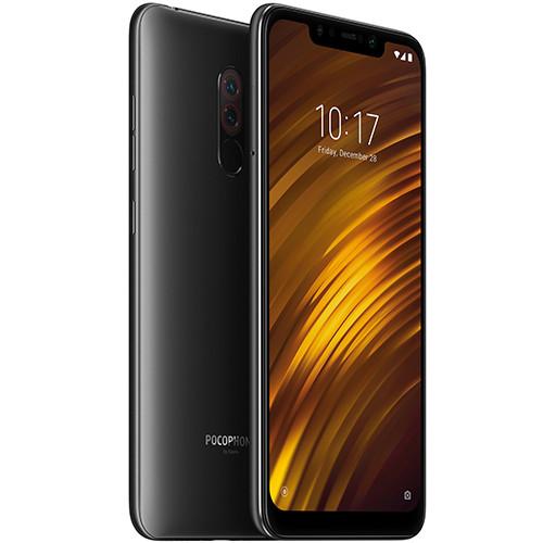 Смартфон Xiaomi Pocophone F1 6/64 Graphite Black Global version (EU) 12 мес