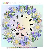 Схема-часы для вышивки бисером