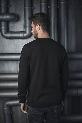 Мужской теплый вязаный свитер BEZET «Skull», фото 2