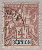 Реюньон 1892-1905 4с Sc#36