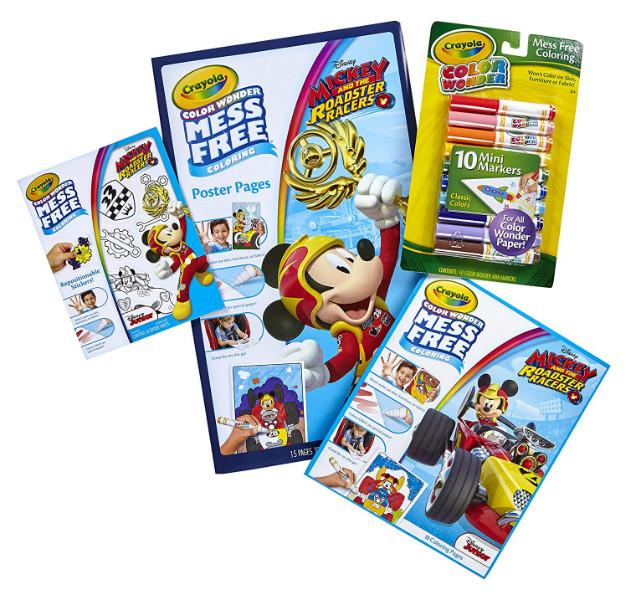 Crayola Набор Крайола Микки Маус Color Wonder Mess Free Mickey Mouse Bundle