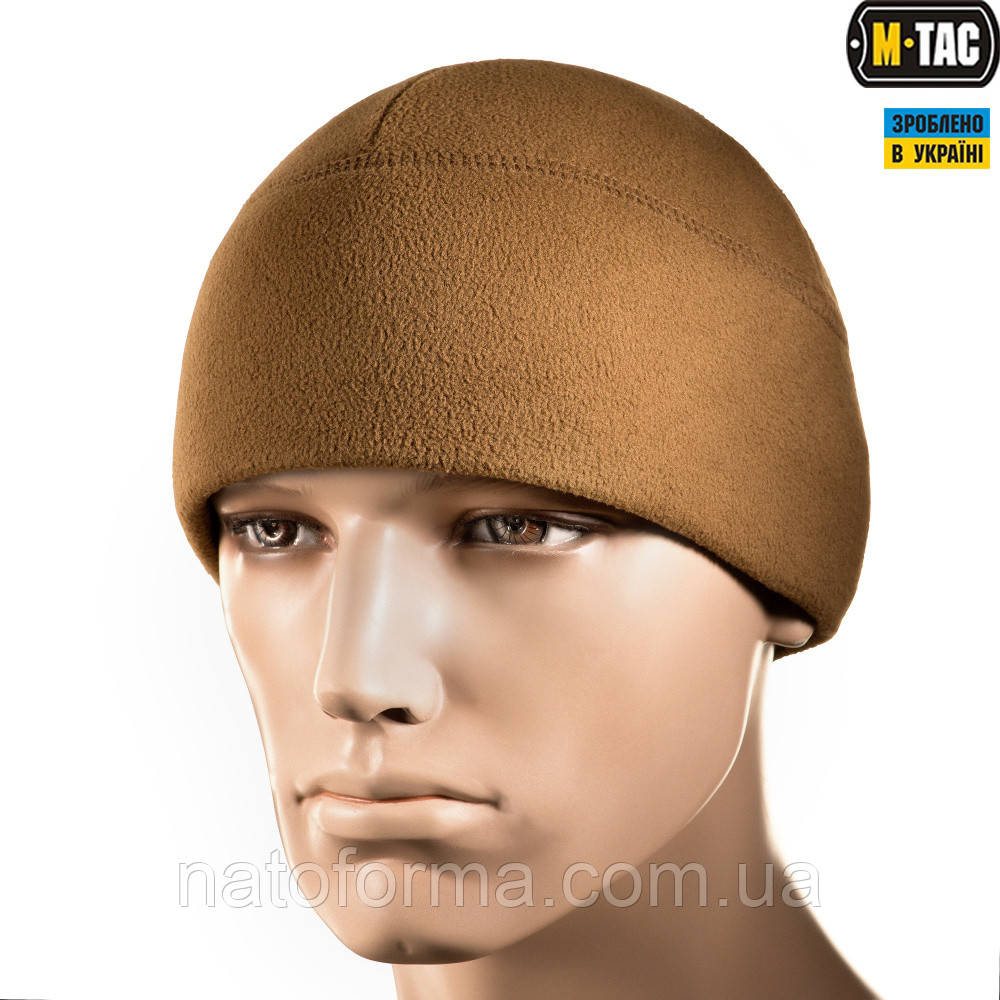Шапка Watch Cap Elite, Slimtex, M-Tac, 260г/м2, койот