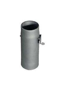 Дымоход стартовый с шибером 0,3 м  110 Ферингер