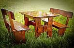 Мебель деревянная сосновая и дубовая для дома и сада, ресторана и кафе от производителя