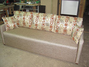 Елітний диван євро книжка з підлокітниками 7см, фото 2