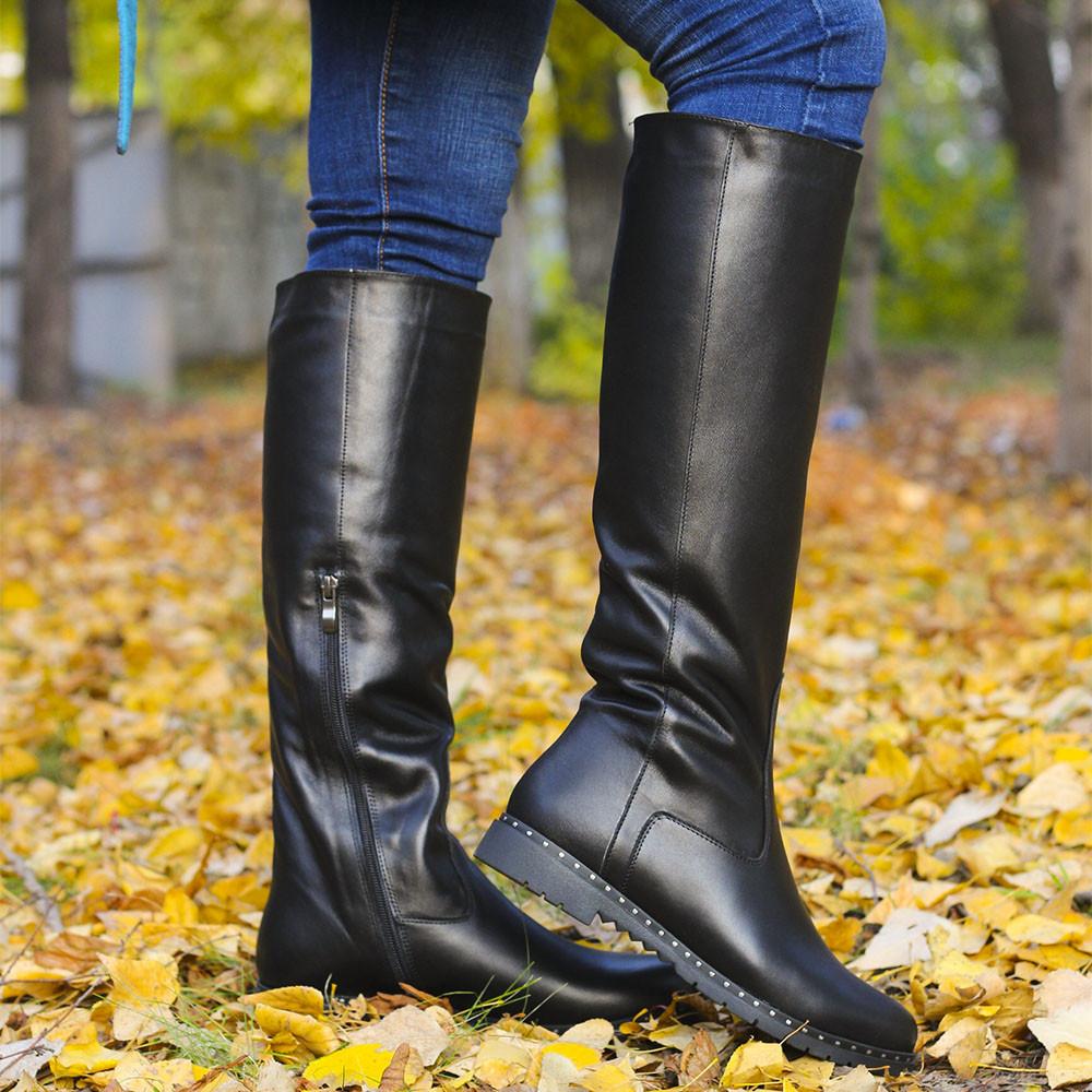 ee73ab23b Сапоги кожаные зима/осень: продажа, цена в Днепре. сапоги ...