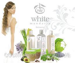 Шампунь органический натуральный для сухих и ломких волос СИЯНИЕ И БЛЕСК White Mandarin (серия Цитрус) 250 мл , фото 3