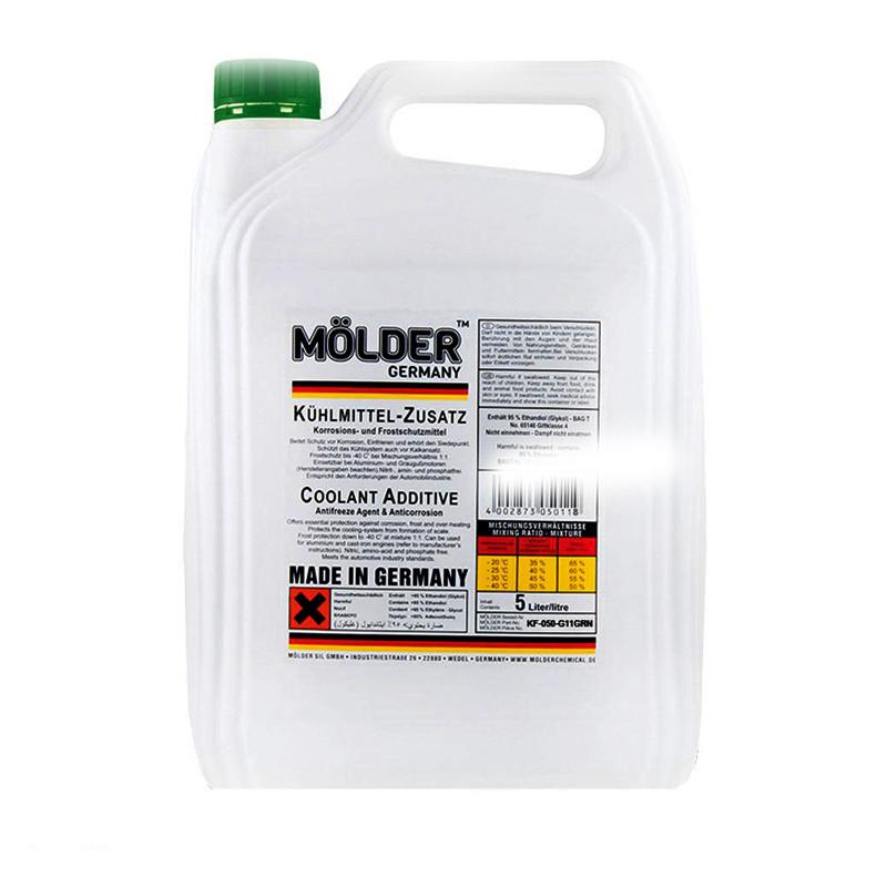 Антифриз концентрат MOLDER G11 (зеленый) 5л