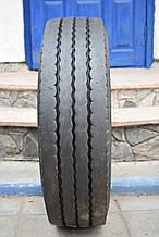 Грузовая шина б/у 215/75 R17.5 Bridgestone, РУЛЬ, 2015 г., одна