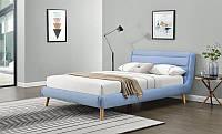 Кровать Halmar Elanda 140 голубой