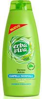 Шампунь Erba Viva Capelli Normali для нормальных волос 500 мл с экстрактом алоэ и бамбука.