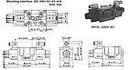 Електромагнітний (соленоїдний) клапан Hydro-pack ISO 4401-AC-05--4-A регульований, фото 2