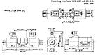 Електромагнітний (соленоїдний) клапан Hydro-pack ISO 4401-AC-05--4-A регульований, фото 3