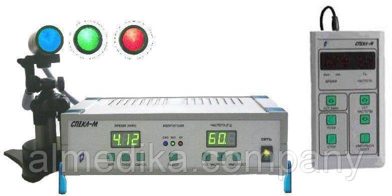 Апарат лазерний офтальмо-терапевтичний «Спекл-М»