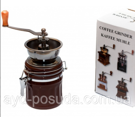 Кофемолка ручная (керамика), арт. W 101
