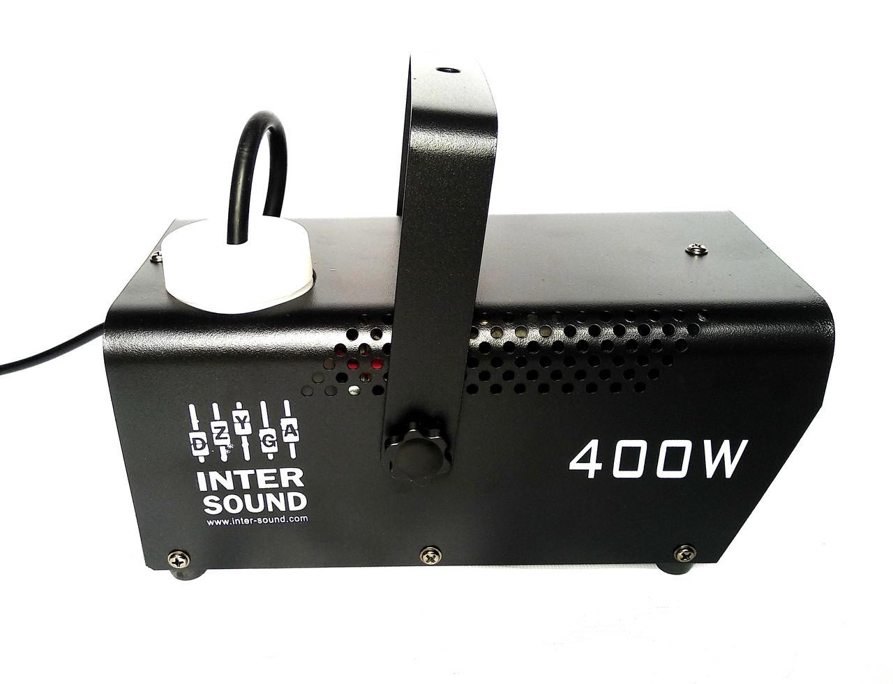 Дымо генератор на пульте управления с подсветкой RGBW