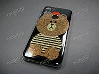 Полимерный TPU чехол Xiaomi Mi A2 / Xiaomi Mi 6X (striped bear)