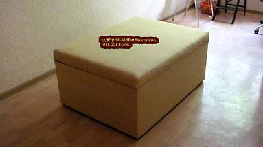 Пуф для балкона с 3-мя подушками 1100х800мм. большой, фото 3