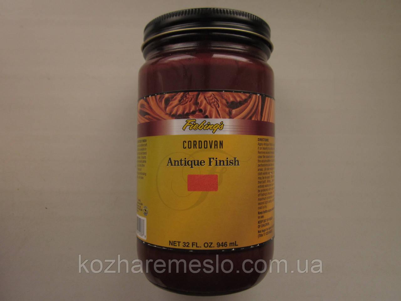 Антик - финиш FIEBING'S для кожи 50 гр cordovan (не фирменная упаковка)