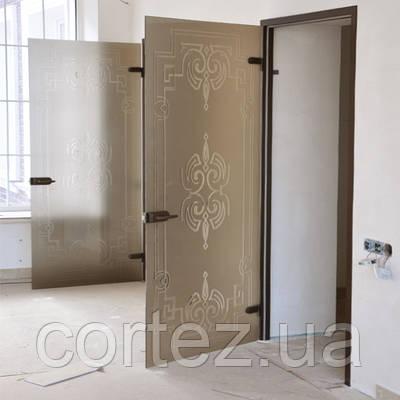 Межкомнатные остекленные двери — стильно и современно