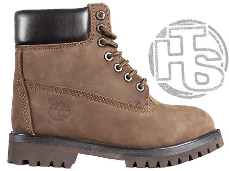 018abeaf Женские ботинки Timberland Classic Boots Brown Winter (с мехом), фото 2