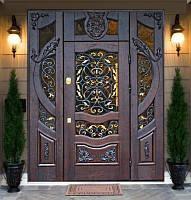 Ковка как элемент декора двери