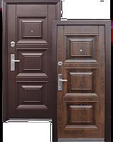Входная металлическая дверь 143+ молоток / бархатный лак