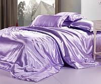 Комплект постельного белья Атласное фиолетовое