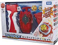 Запуск TAKARA TOMY  Beyblade Burst B-123 Long Baylauncher Set.From Japan Official 100%.