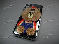 Полимерный TPU чехол Xiaomi Mi A2 / Xiaomi Mi 6X (bear)