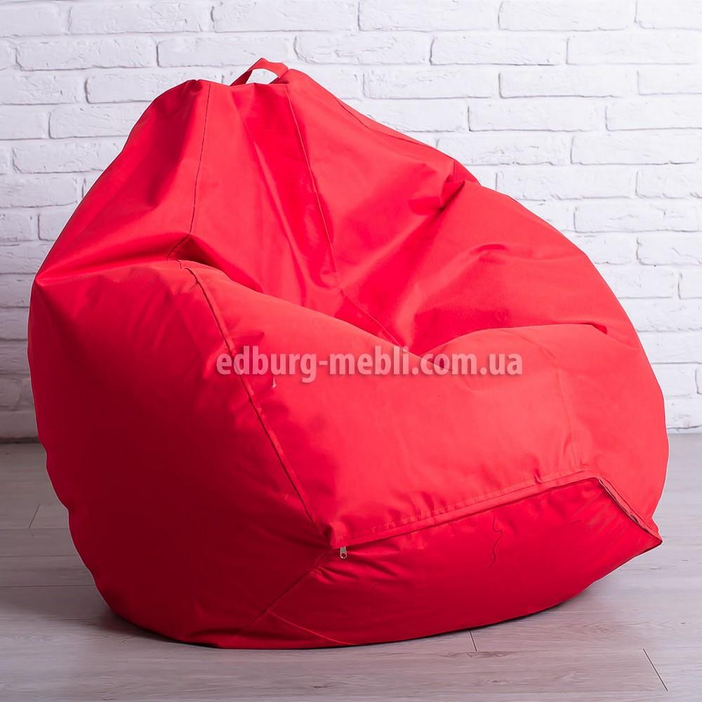 Кресло мешок груша Большой   красный Oxford
